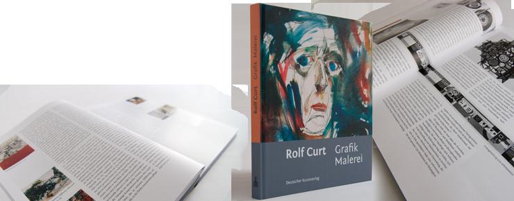 Fotos von »Rolf Curt. Grafik Malerei«